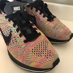 Nike Multi Color Flyknits